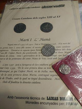 Colección 18 monedas antiguas ( imitación)