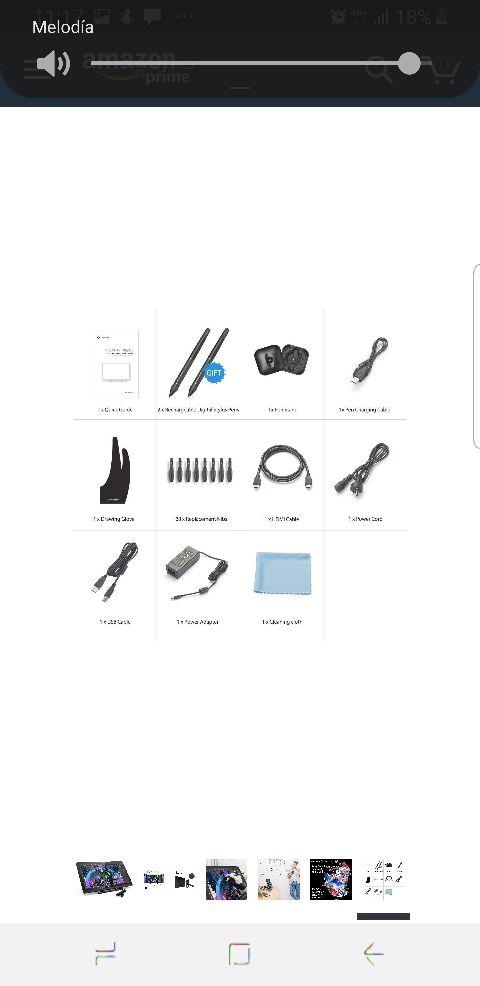 tableta gráfica xp-pen artist 22 pulgadas