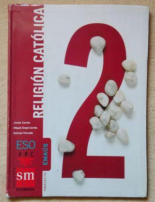 Libro RELIGION EMAUS 2º ESO