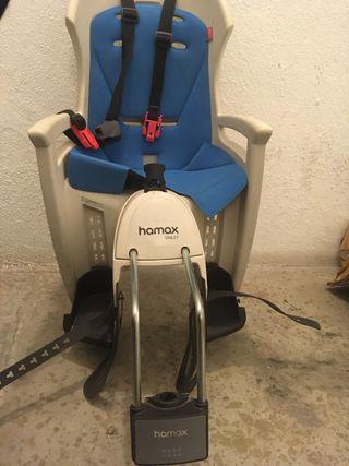 Silla portabebes bicicleta HAMAX SMILEY