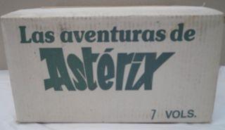 LAS AVENTURAS DE ASTERIX 7 TOMOS, 28 HISTORIAS
