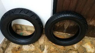 neumático moto custom