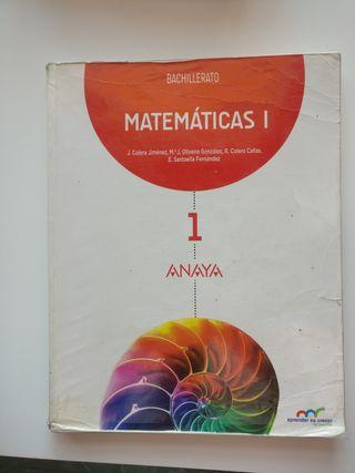 matemáticas 1 anaya