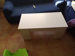 mesa de centro elevable.