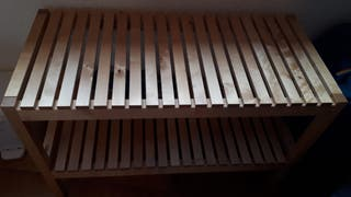 Banco de madera IKEA