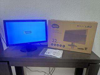 "Monitor LED Benq 22"" FullHD 1080p"