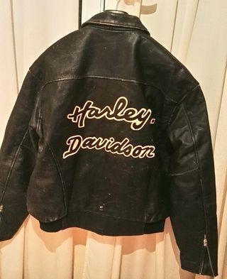 cazador cuero Harley Davison