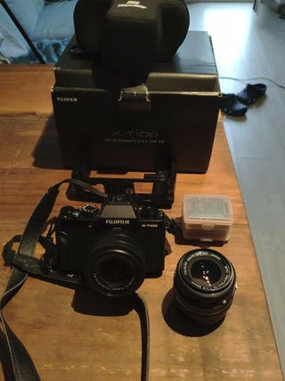 oferton camara Fujifilm x-t100