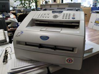 Fax láser monocromo. Fax - Copiadora.