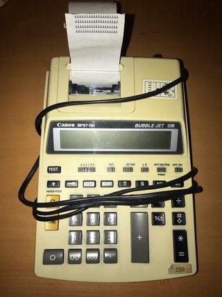 Calculadora, impresora. Canon