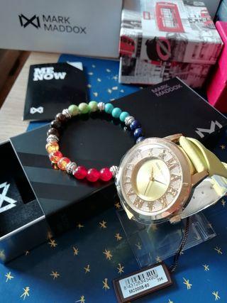 Reloj de mujer Mark Maddox + pulsera