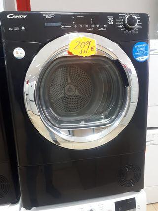 Secadora Candy negra 9kg