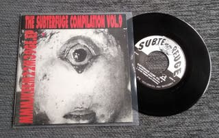 "THE SUBTERFUGE COMPILATION VOL.9 Single 7""Ep"