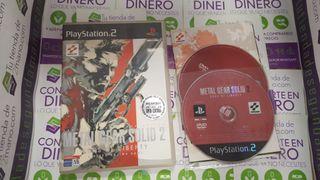 METAL GEAR SOLID 2 PS2