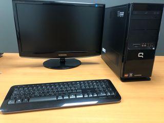 ORDENADOR PC Compaq y Monitor Samsung 22´´
