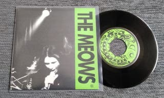 "THE MEOWS-Crazy 7""Vinilo Punk Rock Garaje"