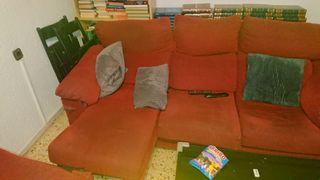 sofas rojos