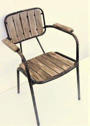 Silla de bar de madera REF_MS137