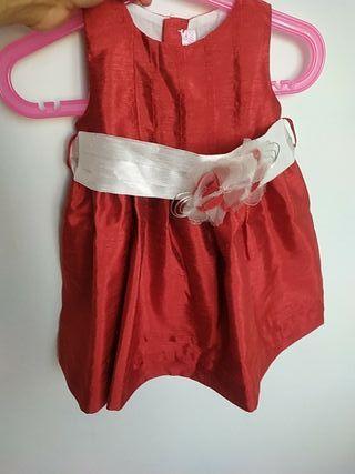 Vestido fiesta niña 12 meses