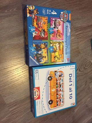 Puzzles niños +3 años