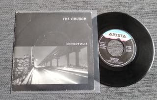 "THE CHURCH-Metropolis 7""Single Vinilo"
