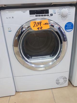 Secadora Candy blanca 9kg