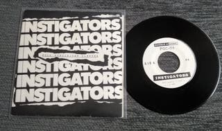 "INSTIGATORS 7""Vinilo Punk Rock"