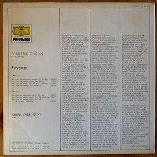 "CHOPIN ""7 POLONESAS"" LP"
