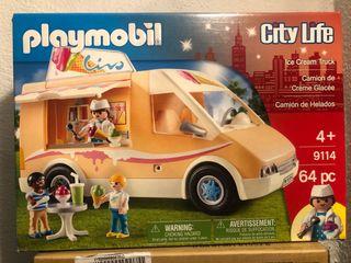 Camión de helados Playmobil