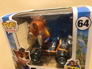 Crash Bandicoot car Funko