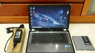 ORDENADOR PORTATIL HP G6 8GB/SSD480/HDMI