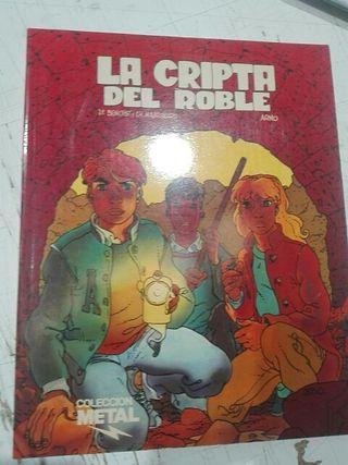 Comic La Cripta del Roble. De Arno