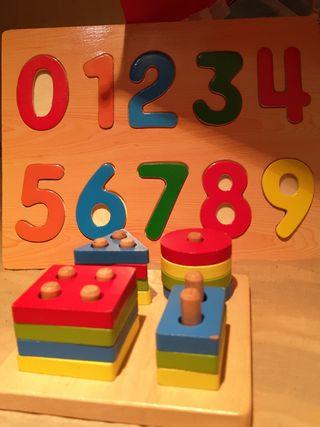 Juguetes de madera educativos de segunda mano en WALLAPOP
