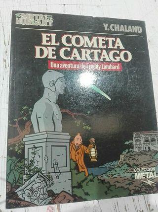 Comic El Cometa de Cartago de Yves Chaland