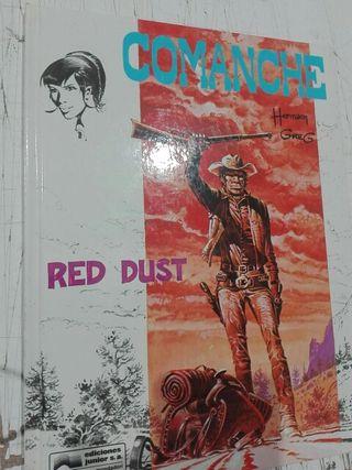 Comic Comanche, Red Dust. De Hermann y Greg