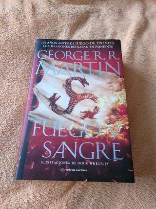 libro Fuego y sangre, juego de tronos