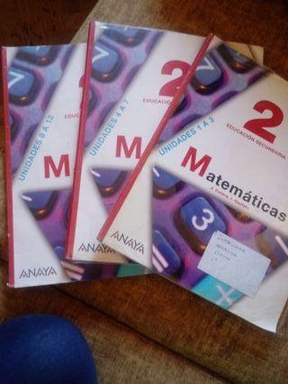 Matemáticas, segundo de la Eso ANAYA