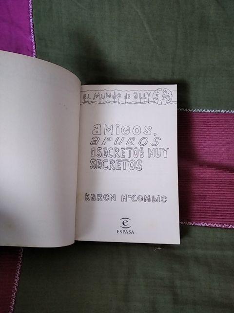 Libro El mundo de Ally
