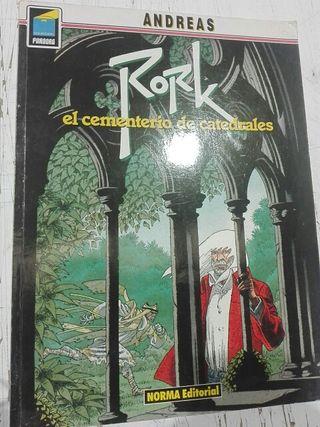 Comic Rork, el cementerio de catedrales de Andreas