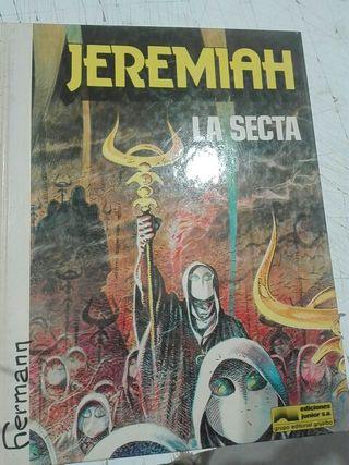 Comic Jeremiah, La Secta. De Hermann