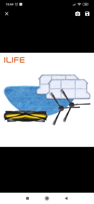 acesorios robot ILIFE V7