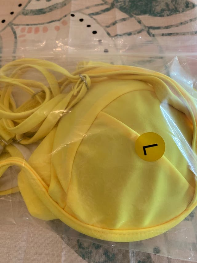 Bikini amarillo