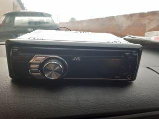 Radio jvc y altavoces 6x9