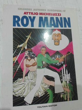 Comic Roy Mann de Micheluzzi