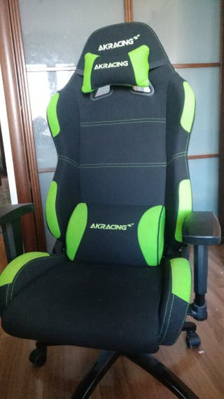Silla Gaming AKracing tela