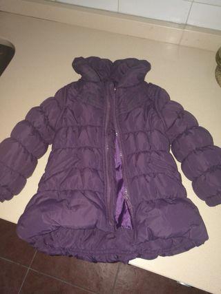 abrigo talla 9 /12 meses niña