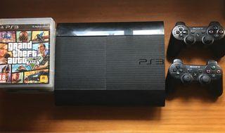 Ps3/ Play Station 3 Súper Slim 500 gb