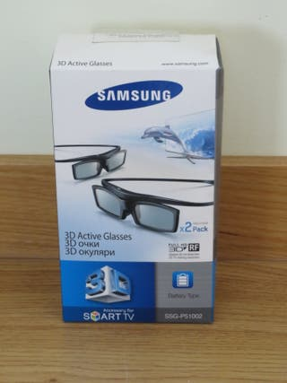 Pack Gafas 3D Samsung SSG-P51002 a estrenar