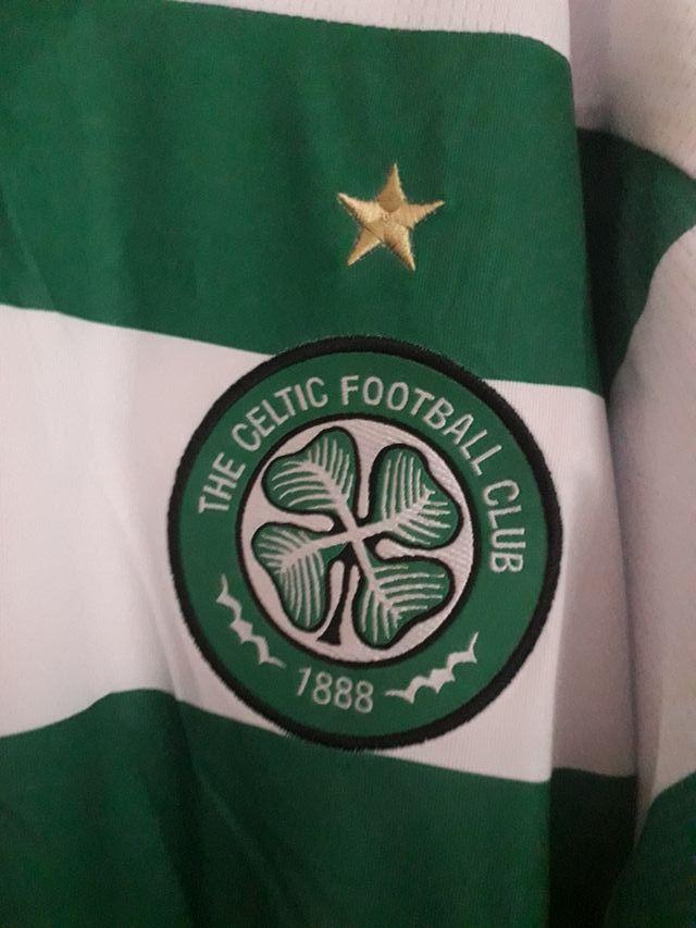 celtic top large long sleeve