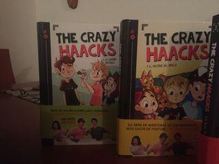 4 Libros crazy haacks